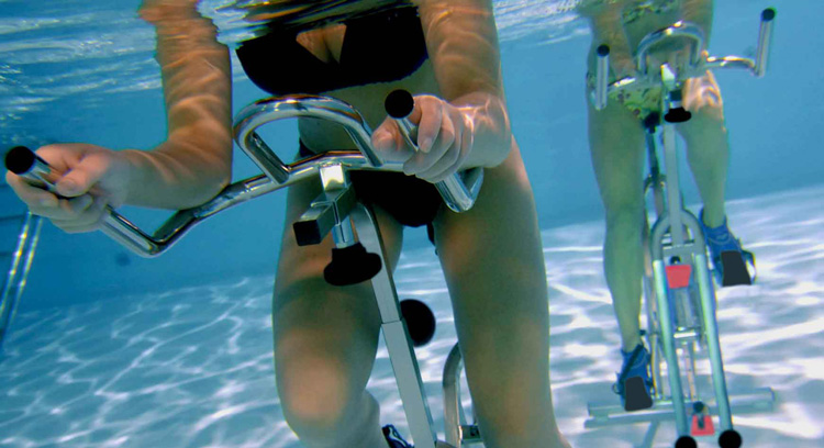 cours aquabike movida